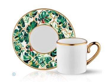 Koleksiyon Eva Amazon Ekvator 6'Lı Türk Kahvesi Takımı Renkli